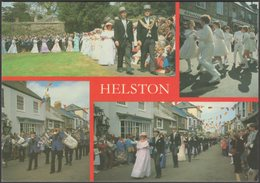 Multiview, Floral Dance, Helston, Cornwall, C.1980s - J & S Cards Postcard - Other