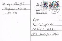 28799. Tarjeta CELLE (Alemania Federal) 1980. Stadt Der Fachwerkbauten - [7] República Federal