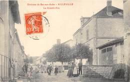 10-AILLEVILLE- ENVIRON DE BAR SUR AUBE- LA GRANDE RUE - France