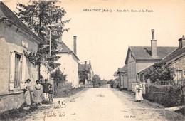 10-GERAUDOT- RUE DE LA GARE ET LA POSTE - France