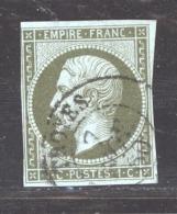 France  :  Yv  11a   (o)   Bronze - 1853-1860 Napoléon III.