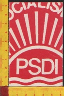 ** TESSERA.-P. S. D. I.-1988.** - Altri