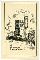 ARTIST : FENWICK / A CORNER OF LEIGH CHURCH - Southend, Westcliff & Leigh