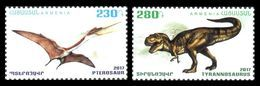 Armenia 2017 Mih. 1048/49 Prehistoric Fauna. Dinosaurs MNH ** - Armenia