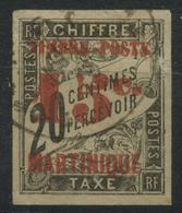 Martinique (1891) N 25 (o) - Martinique (1886-1947)