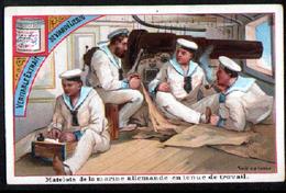 Chomo Liebig,  S219, Marine Allemande, Serie Belge - Liebig