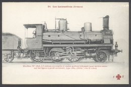 F. Fleury - Les Locomotives Françaises N°24 - P.O. - Machine N° 1806 De Type 130 - Voir 2 Scans - Eisenbahnen