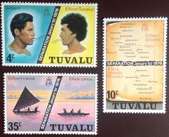 Tuvalu 1976 Separation MNH - Tuvalu