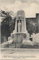 21 IS SUR TILLE Monument élevé Aux Enfants Du Pays Morts Pour La France Et Aux Soldats Américains Morts Pour La Liberté - Is Sur Tille