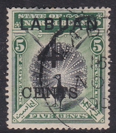 Malaysia-Labuan Scott 87 1899 4c On 5c Green And Black, Used - Malaysia (1964-...)