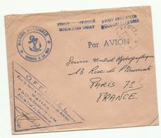 1964 Aviso Escorteur Doudart De Lagree, + Cachet Poste Aux Armées 16 11 1964 Pour Paris - Marcophilie (Lettres)