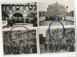 Mortsel   (  4 Oude Foto's  8.5  X 6  Cm ) - Lieux