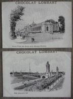 CHOCOLAT LOMBART.EXPOSITION UNIVERSELLE PARIS.TRES JOLI LOT DE 10 CARTES ILLUSTRATEUR. - Expositions