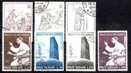 Vatikaan  Mi.Nr.: 478-480 Und 483-486  Oblitérés / Used / Gestempeld - Oblitérés