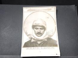 CARTE POSTALE - Carte Photo De Roland Garros - L 18051 - Aviatori