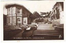 CPSM 34 LAMALOU LES BAINS Hotel Des Bains 1941 - Lamalou Les Bains