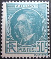 FD/2056 - 1933 - A. BRIAND - N°291 NEUF** - Cote : 42,00 € - Frankreich