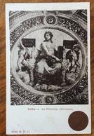 ROMA ANNO SANTO 1900   VATICANO LA FILOSOFIA  CARTOLINA  D'EPOCA FOTO BIANCO E NERO - Fotografia