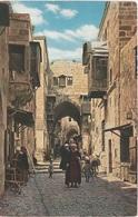 AK Jerusalem ירושלים Al Quds القدس Tarik Bab Es Silseheh Israel מדינת ישראל دولة إسرائيل Palästina Palestine دولة فلسطين - Israel