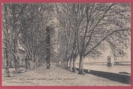 07 - BOURG ST ANDREOL---Quai Du Midi--les Platanes - Bourg-Saint-Andéol