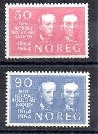 Serie De Noruega N ºYvert 478/79 (**) - Nuevos