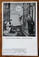 L'ANNUNCIAZIONE DI F. FRANCIA  CARTOLINA D'EPOCA PUBB.LICITARIA  DEL LIBRO I PITTORI DELL'ANNUNCIAZIONE DI A.BUGHETTI - Fotografia