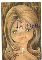 Big Eyes. Petite Fille Et Bague. Signée Gallarda - Autres Illustrateurs
