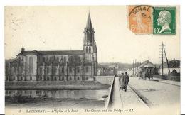 ~ JP  ~ 54  ~   BACCARAT L ' église Et Le Pont - Baccarat