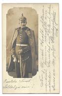 CARTE PHOTO SOLDAT ALSACIEN 1912 Postée à ERSTEIN 67 CPA 2 SCANS - France