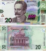 Ukraine - 20 Hryven 2016 UNC 160 Years Ivan Franko Commemorative Lemberg-Zp - Ukraine
