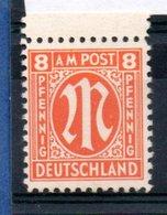 Allemagne Bizone / N 6 / 8 P Orange / NEUF** - Bizone