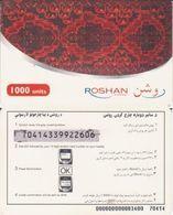 133/ Afghanistan - Roshan; Rechargeable Card - Afghanistan