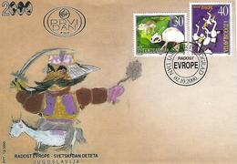 FDC - Europa 2000 Serie - Yugoslavija - FDC