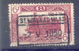 B193  Belgie Spoorwegen Chemin De Fer  Stempel ST NIKLAAS WAAS - 1942-1951