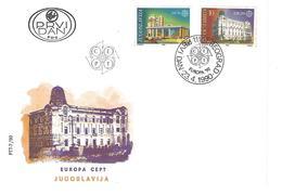 FDC - Europa 1990 Serie - Yugoslavija - FDC