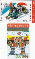 12051- N°. 2 TELEKORT 30KR - DANIMARCA - USATE - Denmark