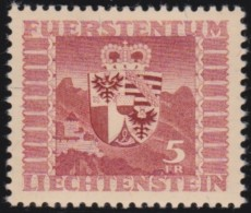 Liechtenstein    .    Yvert     .      227        .    *    .     Ungebraucht Mit Gummi  Und Falz - Neufs
