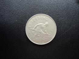 LUXEMBOURG : 1 FRANC  1953   KM 46.2     SUP - Luxemburgo