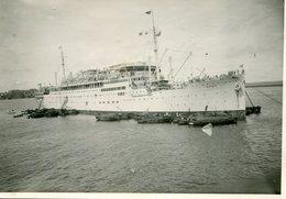 Photo Du Paquebot De Luxe  Francais  ARAMIS  A Colombo Vers 1930 - Personnes Anonymes