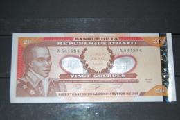 BILLET HAITI 20 GOURDES - 2001 - ETAT NEUF - Haiti