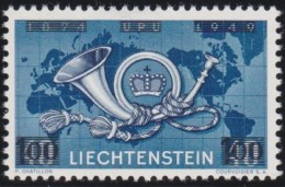 Liechtenstein    .    Yvert     .      250    .      *    .     Ungebraucht Mit Gummi  Und Falz - Neufs