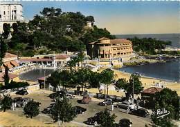 - Dpts Div.-ref-X97- Monaco -  Monte Carlo Beach - Piscine Et Hotel - Piscines - Hotels - Carte Bon Etat - - Monte-Carlo