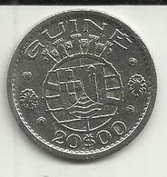 20 Escudos 1952 Guiné Bissau - Guinea-Bissau