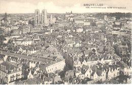 Bruxelles - CPA - Brussel - Vue Panoramique Vers Sainte Gudule - Panoramische Zichten, Meerdere Zichten