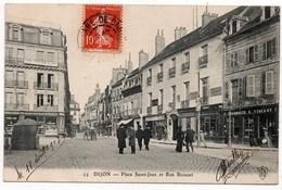Dijon : Place Saint-Jean Et Rue Bossuet (Editeur Louis De Bary, N°94) - Dijon