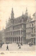 Bruxelles - CPA - Brussel - Grand'Place - Maison Du Roi - Marktpleinen, Pleinen