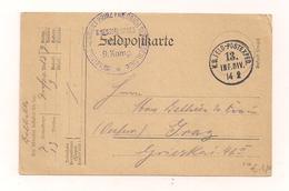 14.2.1915 - Feldpostkarte 1.Weltkrieg - Nach Graz - Other