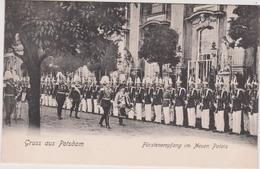 Allemagne :gruss   Aus  POTSDAM , Fürstenempfang Im Neuen Palais , Soldat - Alemania