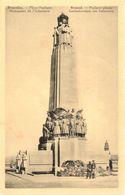 Bruxelles - CPA - Brussel - Place Poelaert - Monument De L'Infanterie - Places, Squares