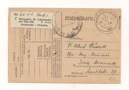 8.9.1917 - Feldpostkarte 1.Weltkrieg - Nach Graz - Other
